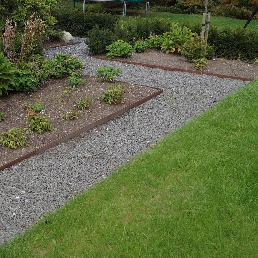 stålkanter til haven